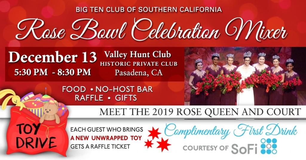 Big Ten Club Rose Queen Mixer